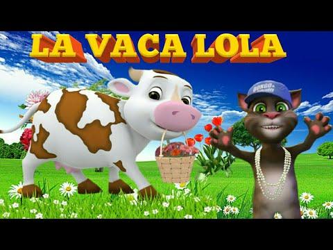 La vaca lola - canciones infantiles ( mi gatito Tom ) thumbnail