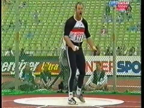 Hammer Throw European Champs 2002 Qualifying Part 1 of 3