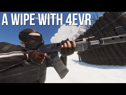 Rust - VITAL MAIN WIPE DOMINATION WITH 4EVR (PROGRESSION/ROAMS)