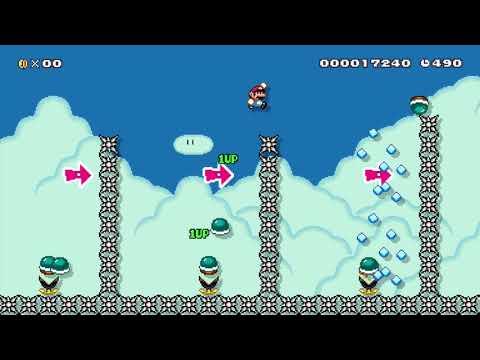 Super Mario Maker - kaizo   Tkijiu Zaxwo!!