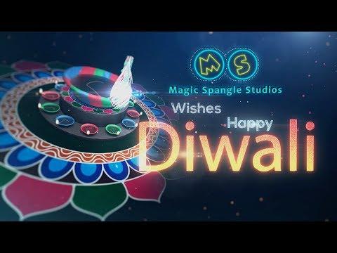 Magic Spangle Wishes Happy Diwali I Diwali Wishes 2017