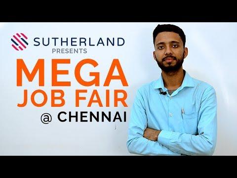 Mega Job Fair At Chennai | Free Walkin Jobs, Sutherland Interview