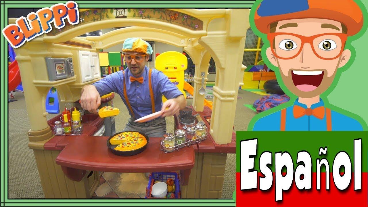 Download Blippi Español Aprende en el Patio de Juegos | Videos Educacionales para Niños y Infantiles