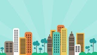 PowerPoint Tutoriel Sur L'Animation Graphique De Mouvement De La Ville