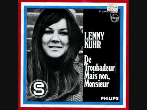 Lenny Kuhr - De Troubadour (Eurovisie Songfestival Madrid 29 maart 1969)