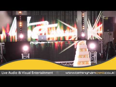 Ultimate LED Split Package - Birmingham Crew DJs & Events
