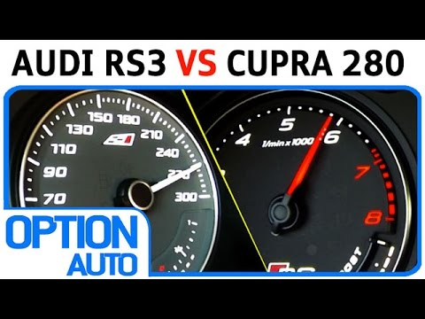★ 0-200 km/h • New Audi RS3 vs Seat Leon Cupra 280 (Option Auto)