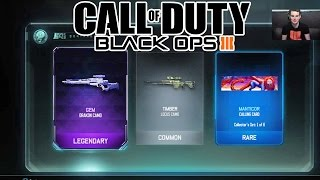 COD BO3: PRESTIGE 2 Online + Supply Drop LEGENDARY Opening (Black Market)