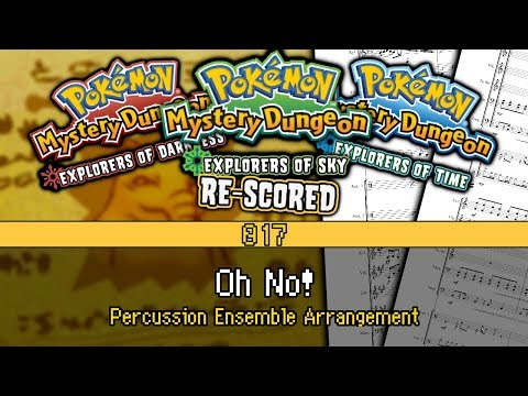[017] PMD: EoT/D/S - Oh No! (Arr. for Percussion Ensemble) Mp3