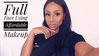 Affordable Drug Store Makeup Look