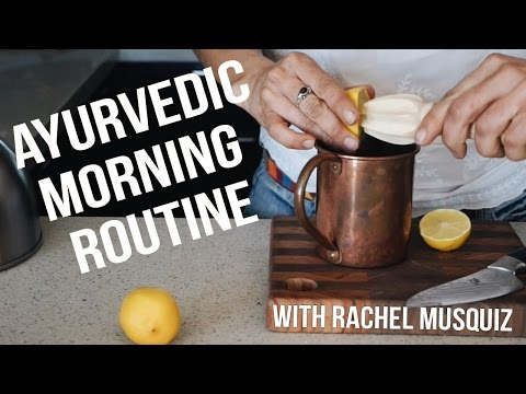 MIRACLE MORNING ROUTINE AYURVEDIC | How To Be A Morning Person 01
