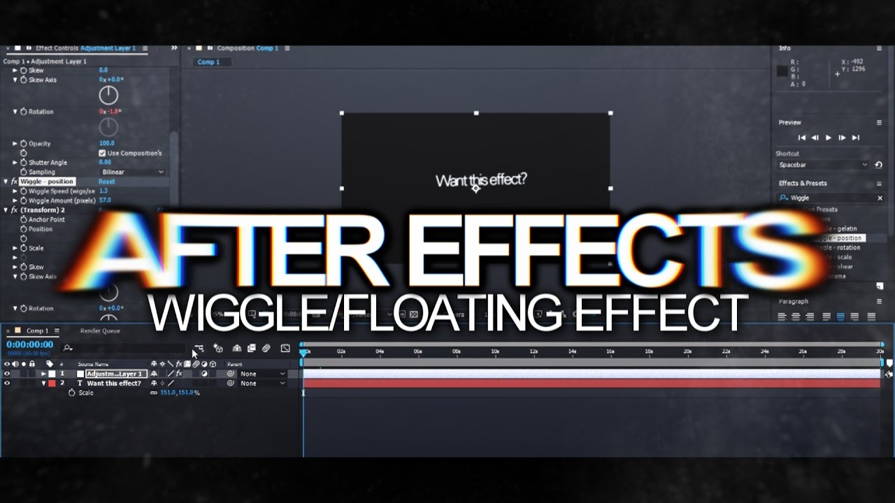 Expressions are fun! : adobe after effects tutorial.