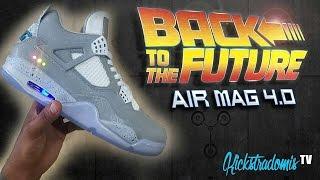 Kickstradomis: Air Mag Air Jordan 4 Custom!