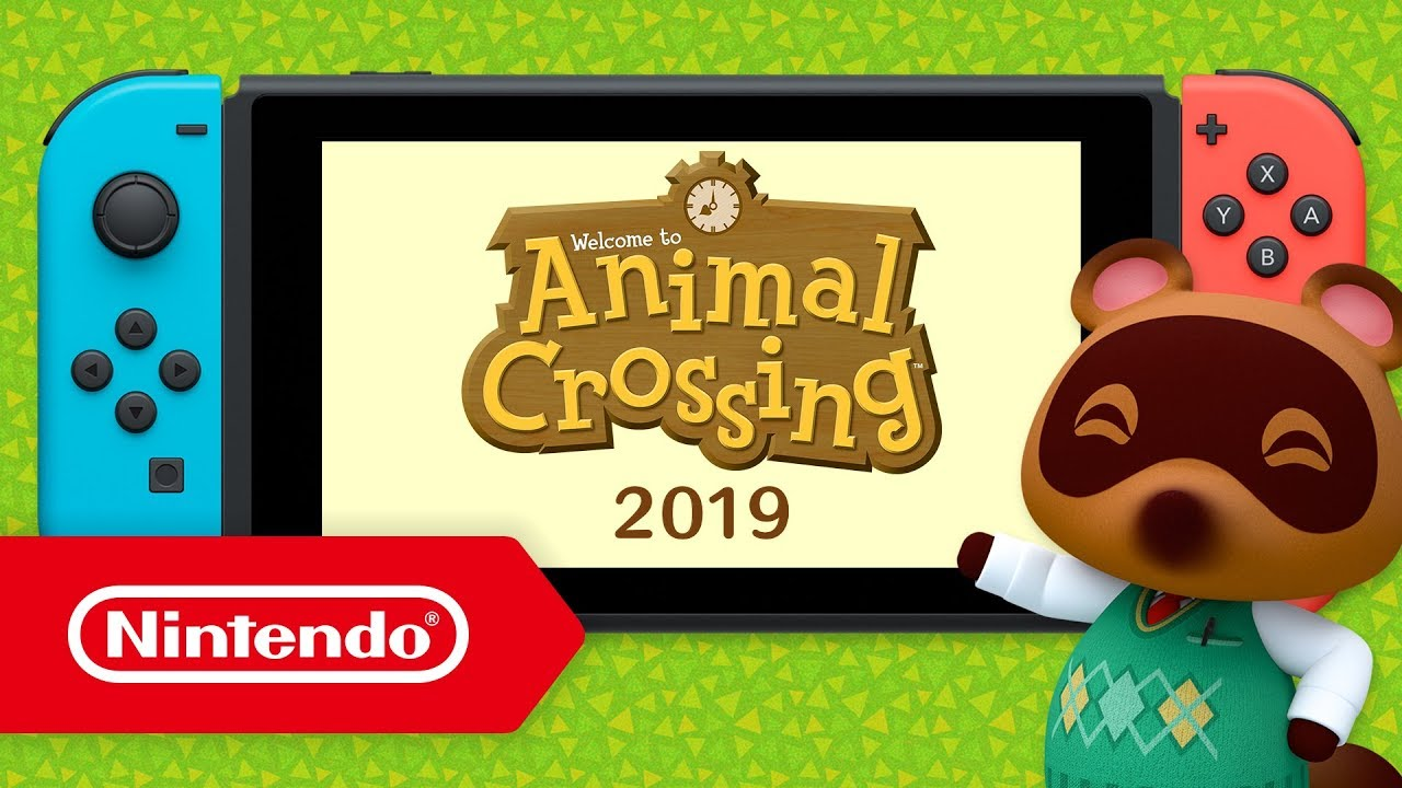 Animal Crossing Arrive Sur Nintendo Switch Youtube