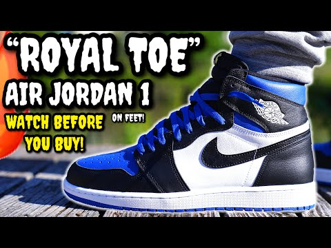 Air Jordan 1 Royal Toe Review On Feet Watch Before You Buy