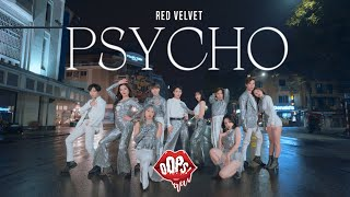 Gambar cover KPOP IN PUBLIC | Red Velvet 레드벨벳 - 'Psycho' | DANCE COVER by Oops! Crew from VIETNAM