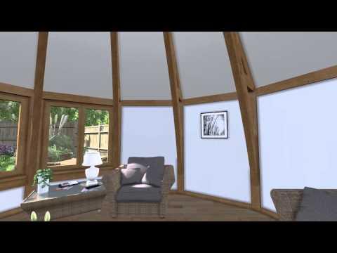 Arboreta CGI Sunroom/Roundel Garden Room