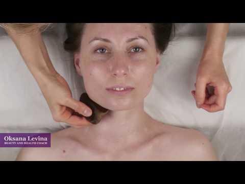 КИТАЙСКИЙ МАССАЖ ГУА ША, самомассаж лица, подробное видео массажа лица