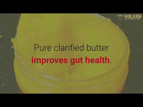 What is clarified butter: how it helps in staying cool and fit? | Milkio Foods