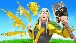 The GOLD THOR Challenge in Fortnite!