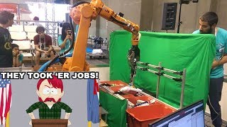 The Amazon Robots Are Here to Take Your Jobs!!!