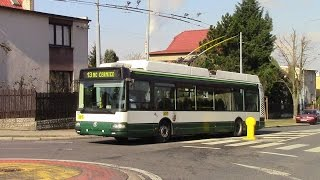 Plzeň Trolleybuses Route 13 Černice to Doubravka Na dlouhých