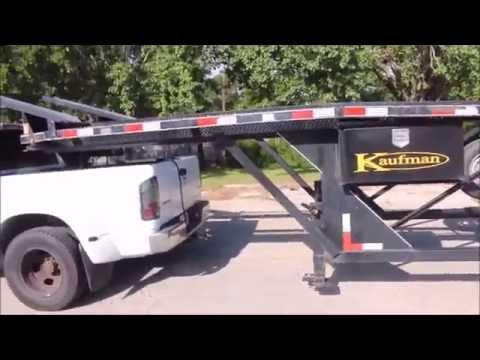 2014 Kauffman 4 Car Hauler Youtube