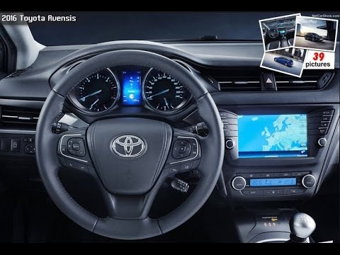 2016 Toyota Avensis Interior Youtube
