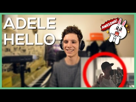 Adele - Hello + 2 FANCAM Videos (Cover By Taka From ONE OK ROCK) • Reaction Video • FANNIX