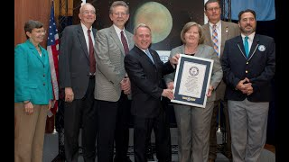 USA's Pluto stamp breaks Guinness World Record for furthest distance travelled by a postage stamp