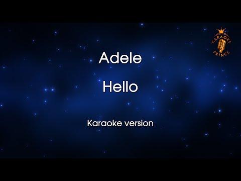 Adele - Hello (Lyrics and Backing Track)