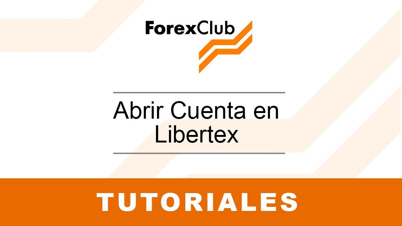 Crear cuenta forex