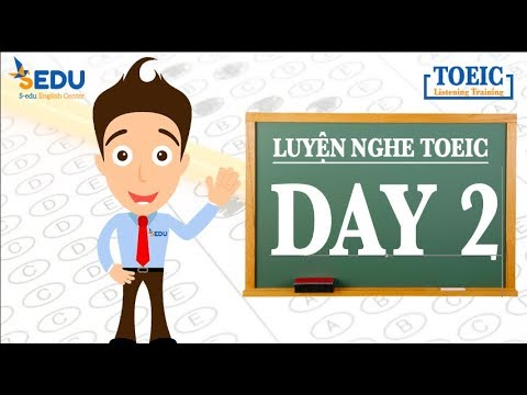 Luyện nghe TOEIC Part 1 (tả tranh) – Day 2