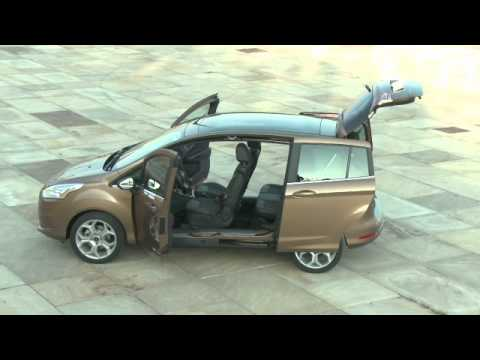 nouveau minispace ford b max youtube. Black Bedroom Furniture Sets. Home Design Ideas