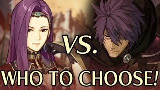 How to Choose Between Sonya and Deen. Fire Emblem Echoes: Shadows of Valentia (Guide)