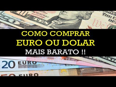 📢 Meu Método para Comprar Euro e Dolar Mais Barato!