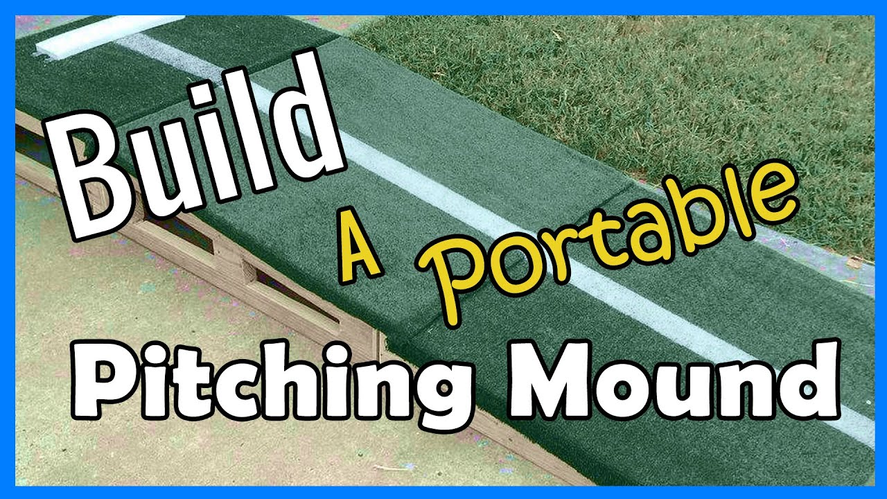 How To Build a Pitching Mound | ERIKTV365 - YouTube