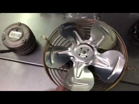 Everest refrigerator-How to Replace a Condenser fan Motor.