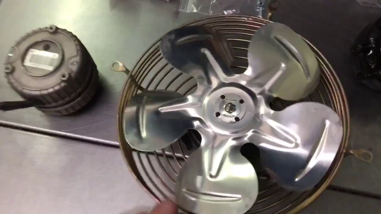 How To Replace A Condenser Fan Motor On A Everest