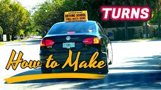 How To Make Tuŗns Driving Lesson for Beginners/Tutorial/Car