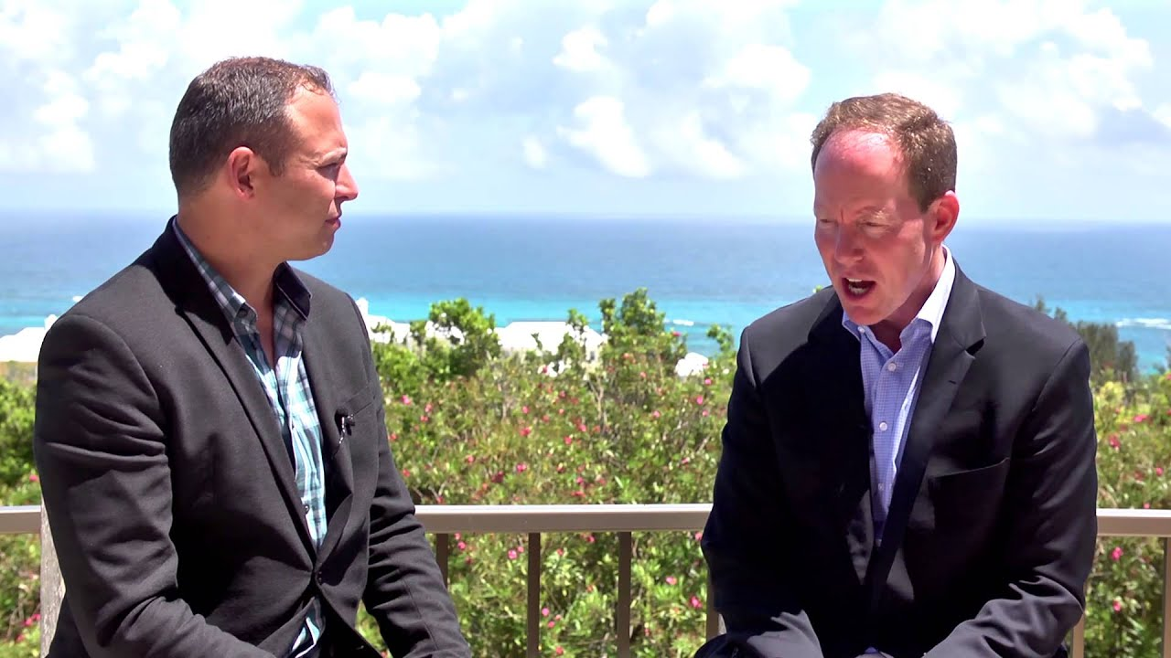 Global Fund Forum 2015 Bermuda with Jim Cahill, Milestone Business Developments