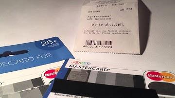 Joker Prepaid Mastercard