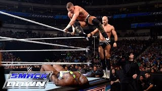 Tyson Kidd & Cesaro vs The New Day: SmackDown, April 9, 2015
