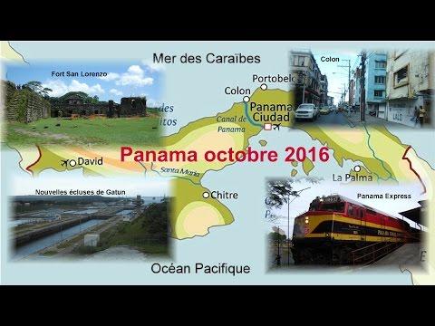 Circuit, Panama le canal et ses environs