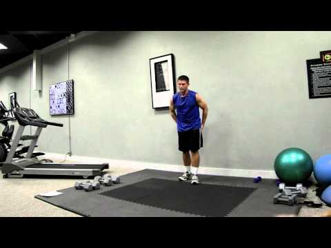 Golf Workout – Lower Body