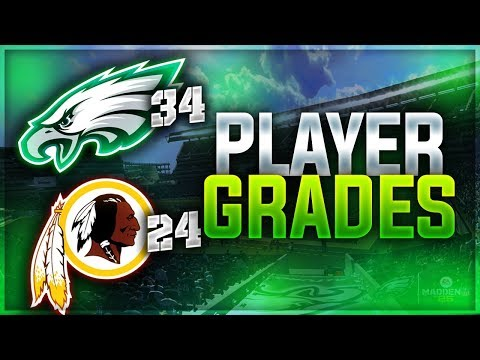 WENTZ IS ON 🔥 + RESPECT TO JASON PETERS! | Eagles 34 Redskins 24 - Week 7 Player Grades
