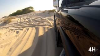 An FJ Cruiser Evening Drive in Sand