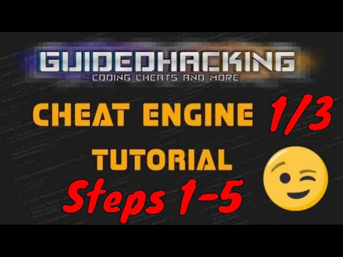 Cheat Engine Tutorial Guide 1/3 Steps 1-5