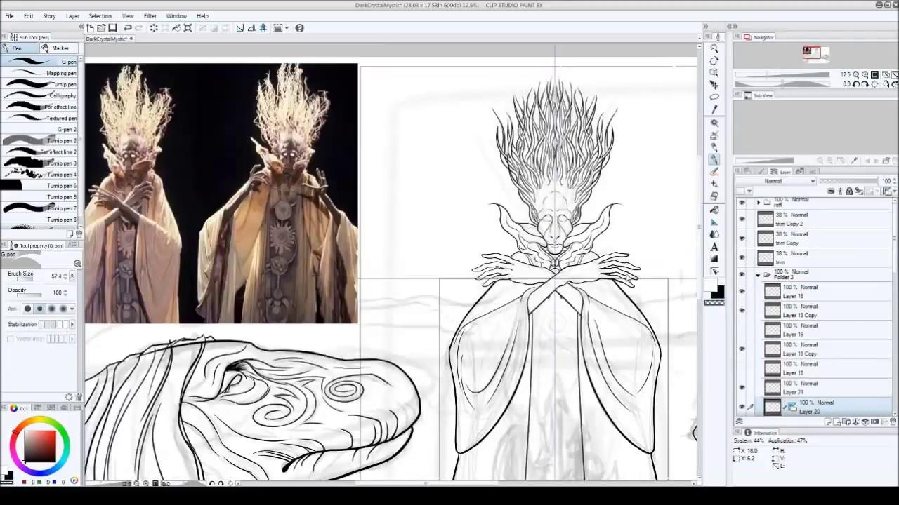 Dark Crystal Art Urskek Pencil And Ink Part 3 Youtube Urskeks who act against the ways urskek society. dark crystal art urskek pencil and ink part 3