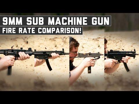 MP5 vs UZI vs PTR9K vs MAC11 - The Proving Ground